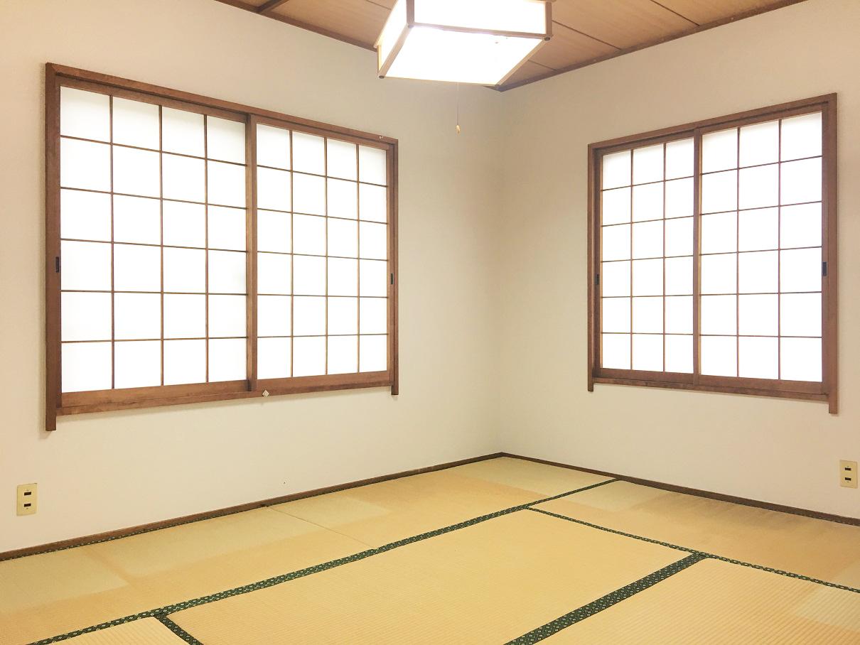 2面窓6帖和室